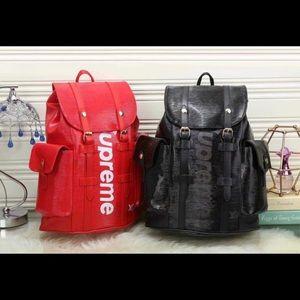 Supreme 4 piece Backpack set
